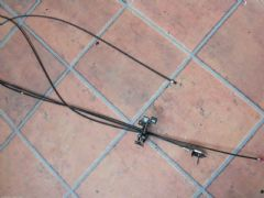 MAZDA MX5 EUNOS (MK1 1990 - 1997) BOOT & FUEL FLAP RELEASE CABLE